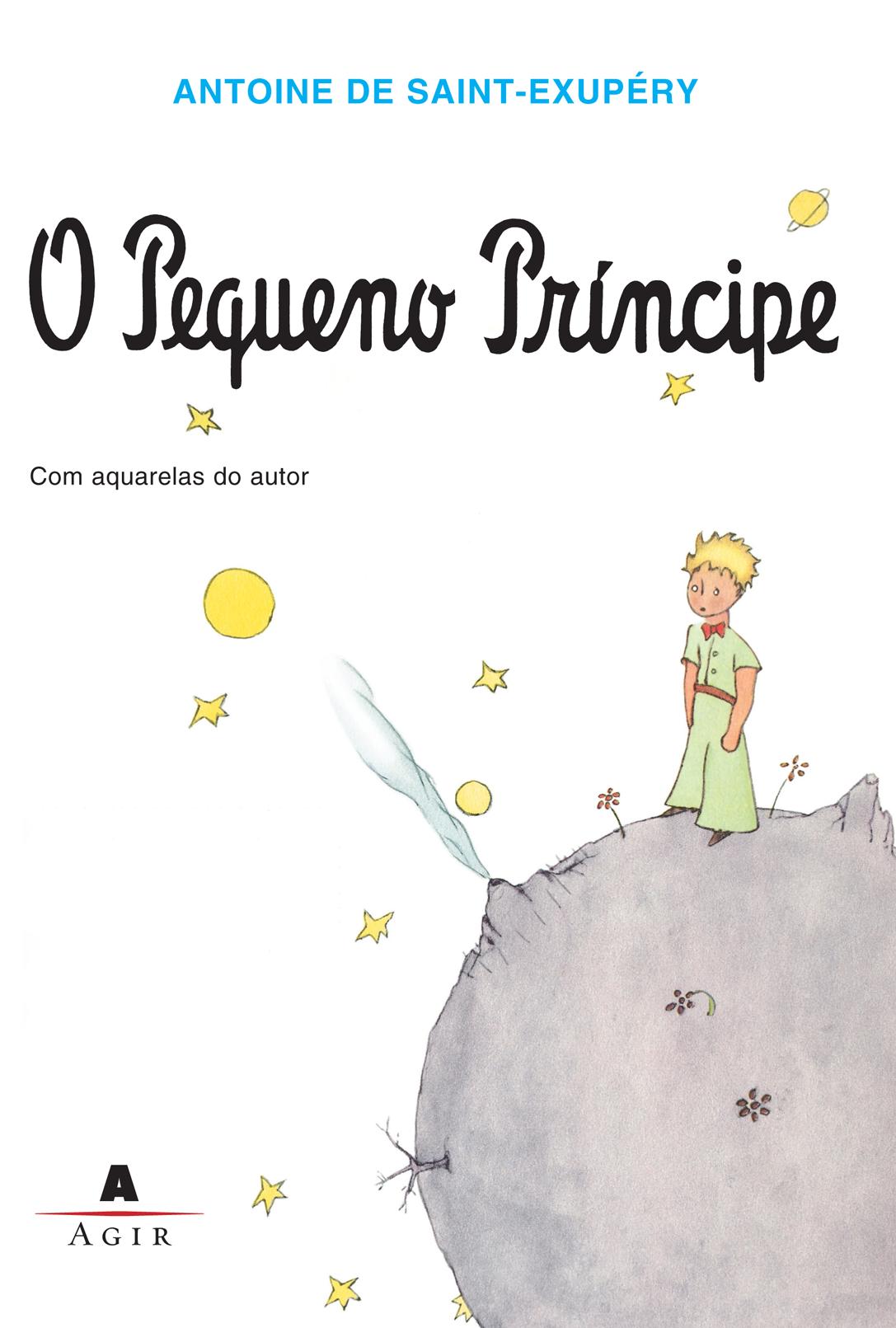 Capa do livro O pequeno Príncípe